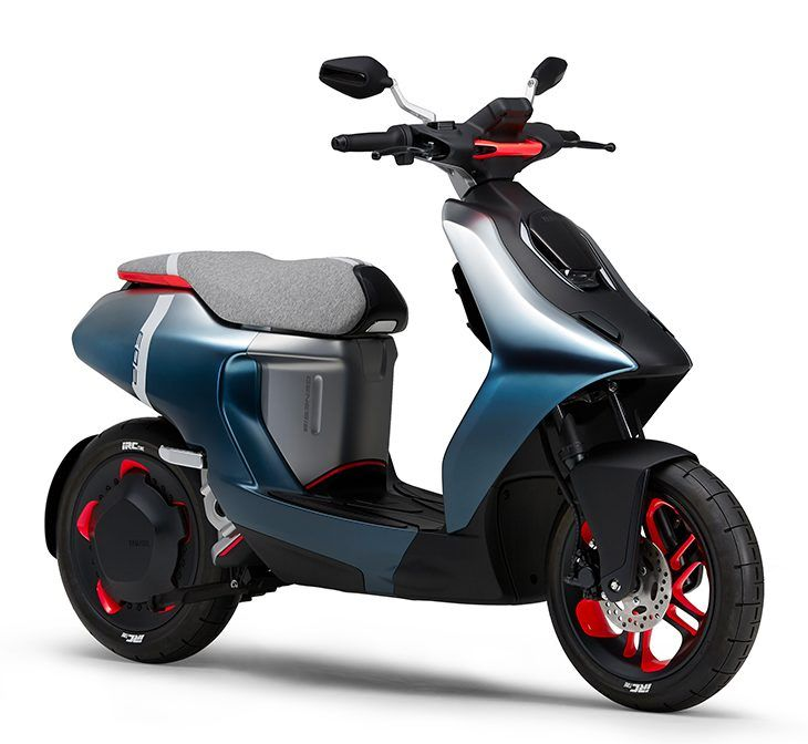 Yamaha EC-05 electric scooter unveiled with swappable